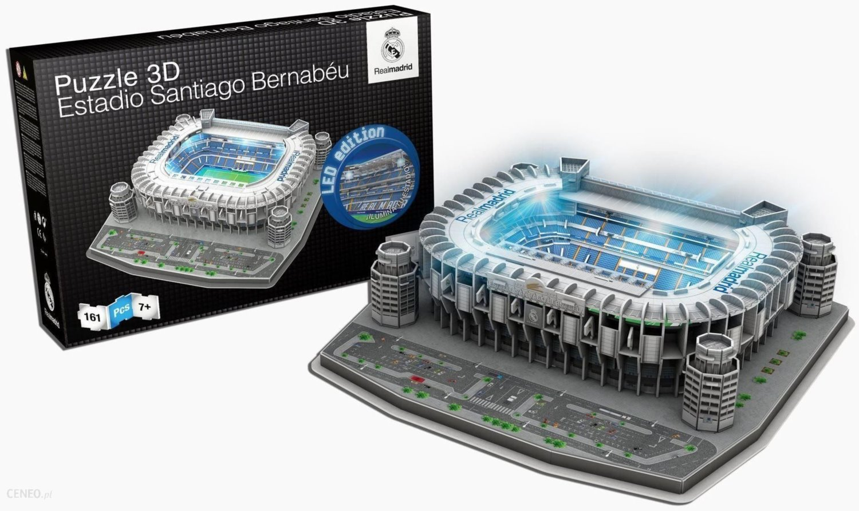Real Madrid Santiago Bernabeu Stadium ~ 3D Jigsaw Puzzle ~ Official Licensed Pro